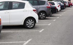 image of a parking lot