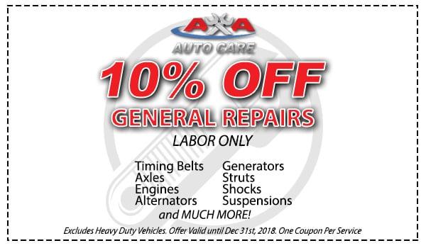 Smog Check Coupons Las Vegas >> Auto Repair Coupons Las Vegas - AA Auto Care - 702.818.7100